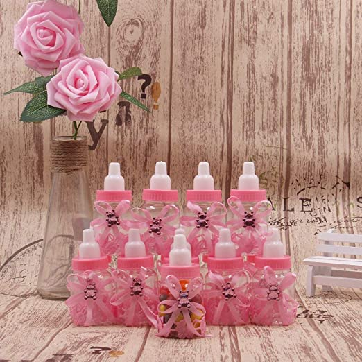 Amazon.com: Pack de 24 mini botellas de regalo para niña ...