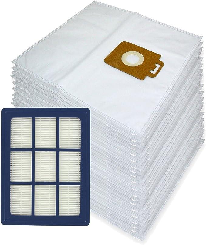 Spares2go – Bolsas de tela de microfibra + filtro HEPA H12 para ...