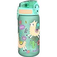 Ion8 Szczelna butelka na wodę dla dzieci, BPA 400 ml / 13 uncji, lamas