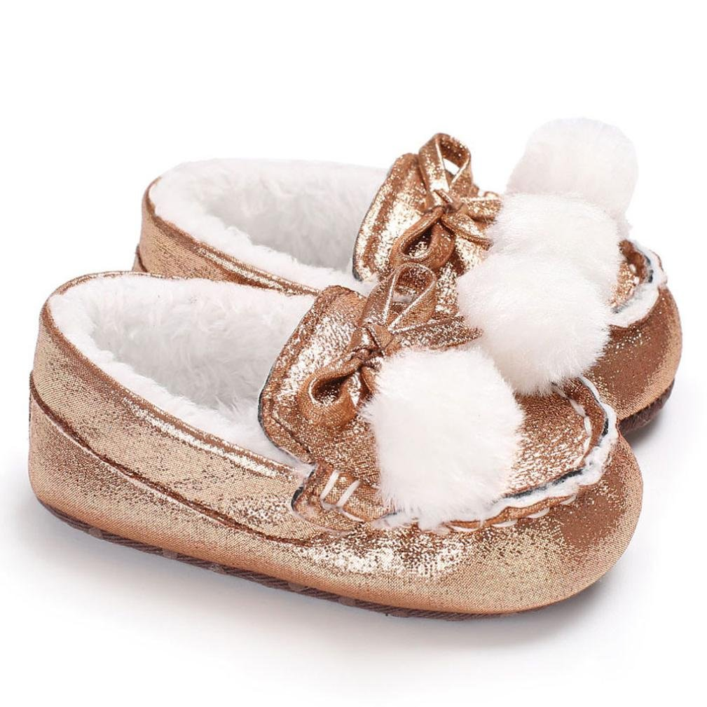 Witspace Infant Baby Boys Girls Soft Sole Crib Shoes Newborn Kids Flats Warming Sneakers
