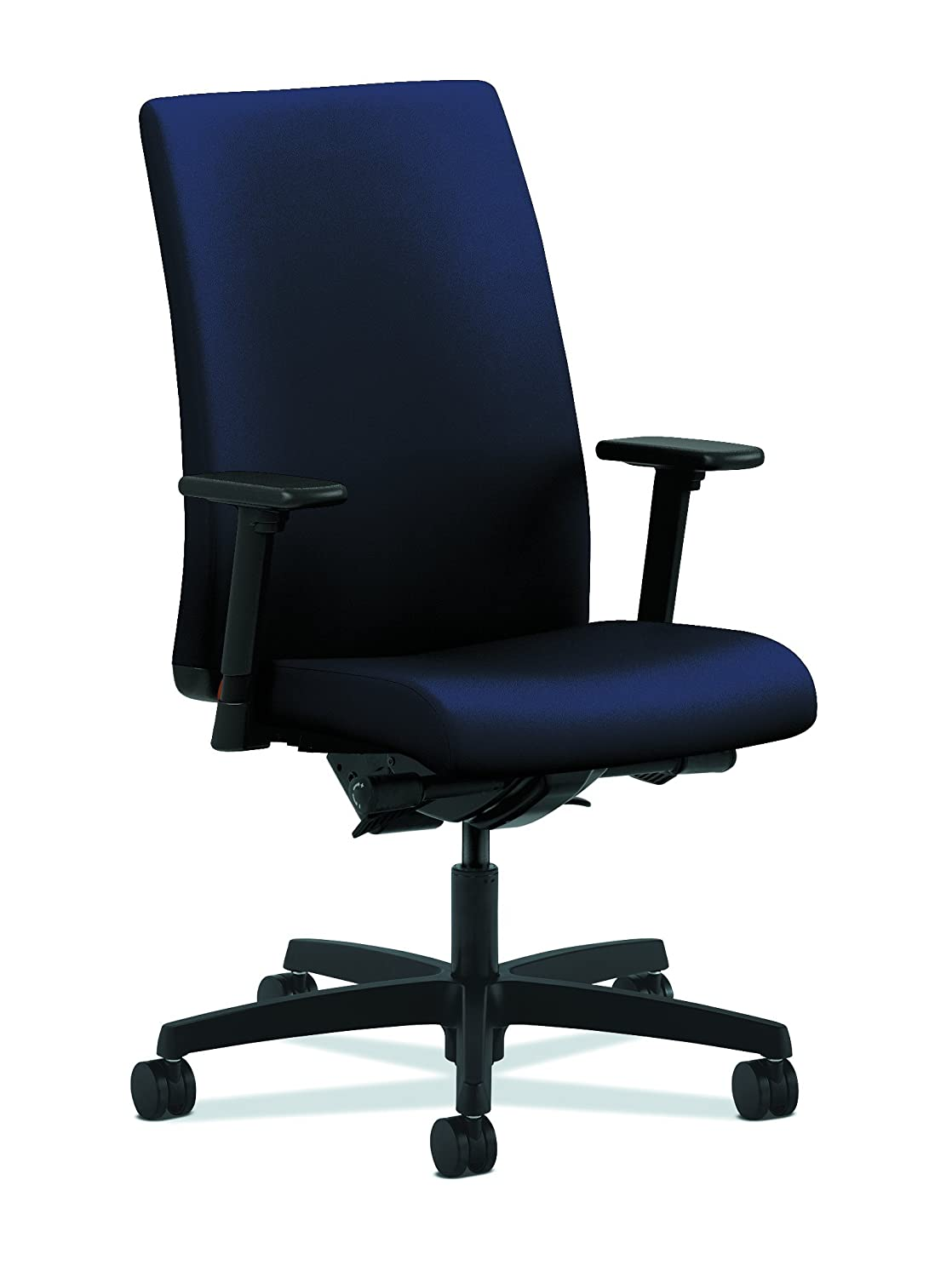 HON Ignition Series Mid-Back Work Chair - Mesh Computer Chair for Office Desk, Navy (HIWM2) HONIW103CU98