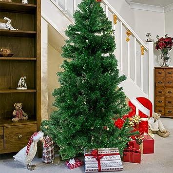 Künstlicher Weihnachtsbaum Für Aussenbereich.Künstlicher Weihnachtsbaum Hochwertiger Tannenbaum Christbaum Mit Metallständer Material Pvc Innen Und Außenbereich Grün 210cm