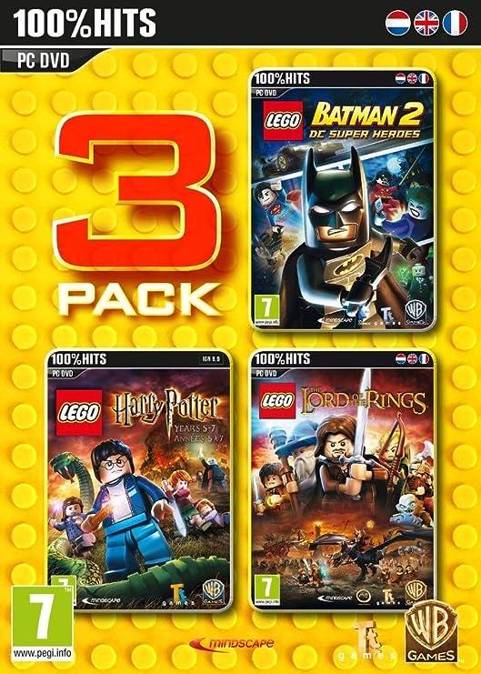 Lego Batman 2 + Lego Harry Potter + Lego Lord Of The Rings [Importación Francesa]: Amazon.es: Videojuegos