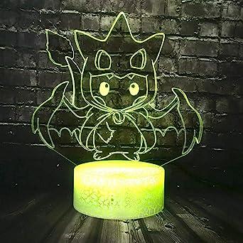 KangYD Dibujos animados Pokemon LED Night Light / 3D Sleep Lamp ...