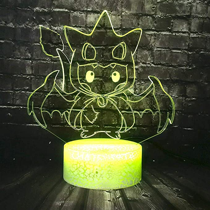 KangYD Dibujos animados Pokemon LED Night Light / 3D Sleep Lamp ...