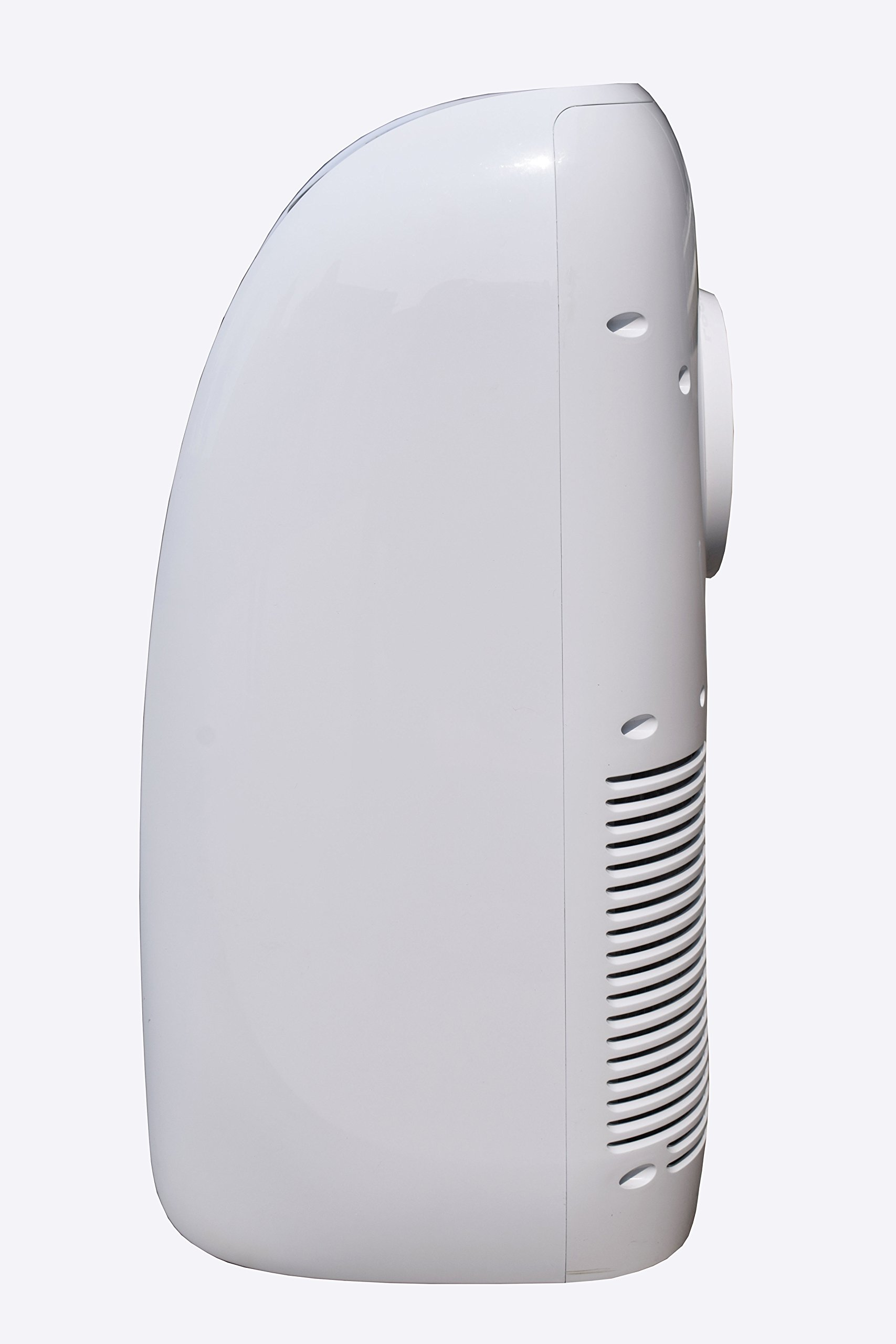 CCH YPLA-08C Portable Air Conditioner 3 Ultra compact for easy handling and positioning. Weighs only 47 lbs 8,000 BTU's of cooling power keeps a room up to250 sq. Ft. Cool and comfortable and partially Cools an Area up to 350 sq.Ft Washable and reusable air filter saves money on Replacements