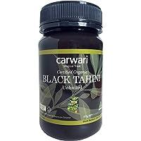 Carwari Organic Gluten Free Black Tahini Paste Jar, 375 g