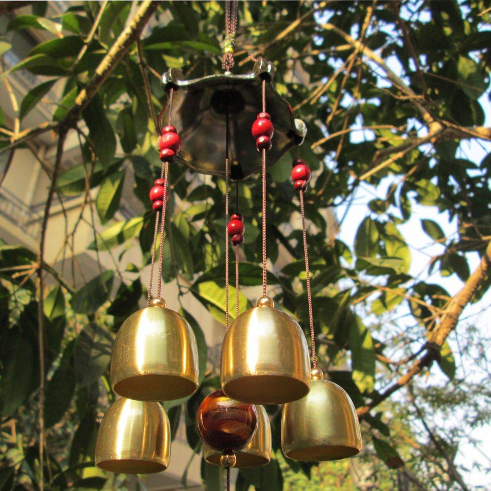 Amazingアウトドアガーデン風の鐘 B00W5WI184