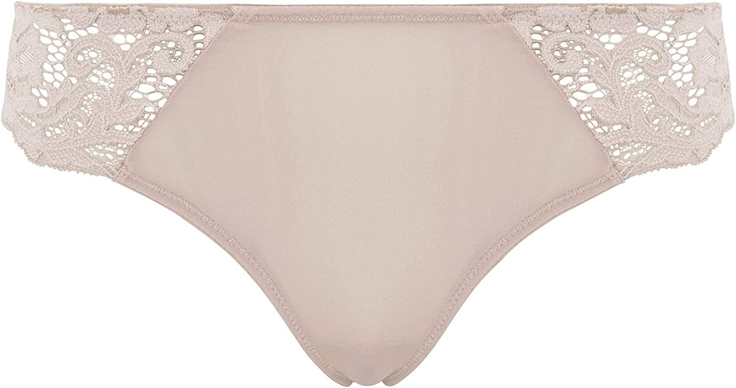 goldenpoint Slip Intimo Donna in Microfibra e Pizzo