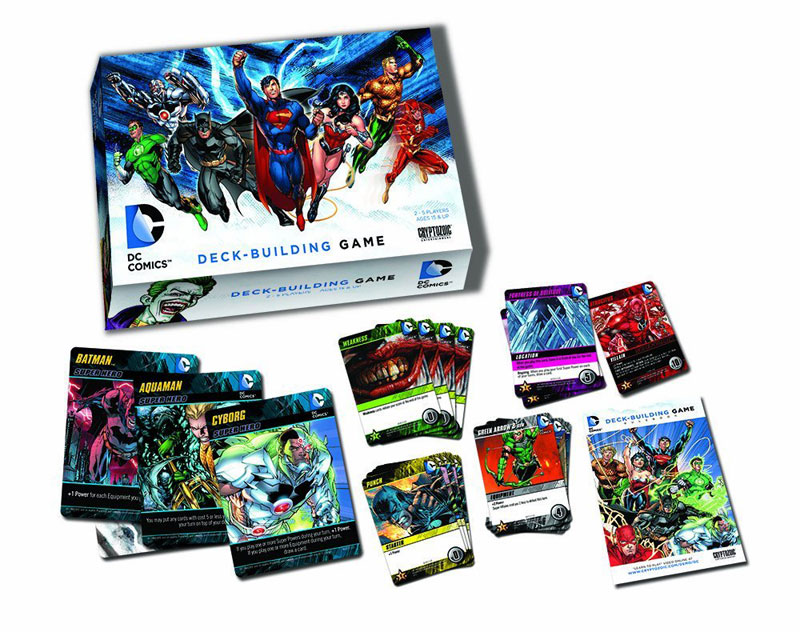 how to play dc deck building game