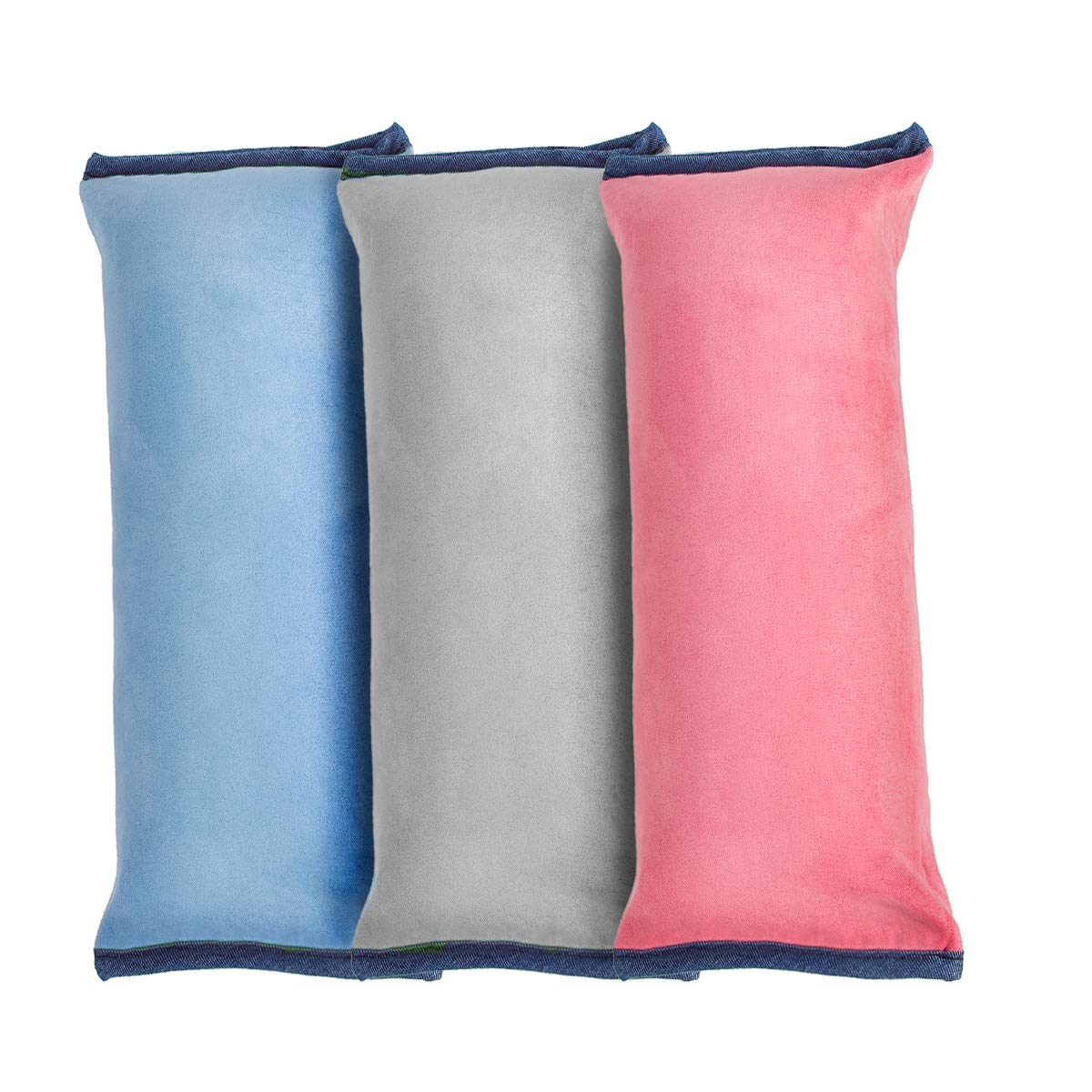 Karveden 3 Pack Car seat Belt Pillow Shoulder Pads Neck Support Strap Headrest Adult Kids Baby by Karveden
