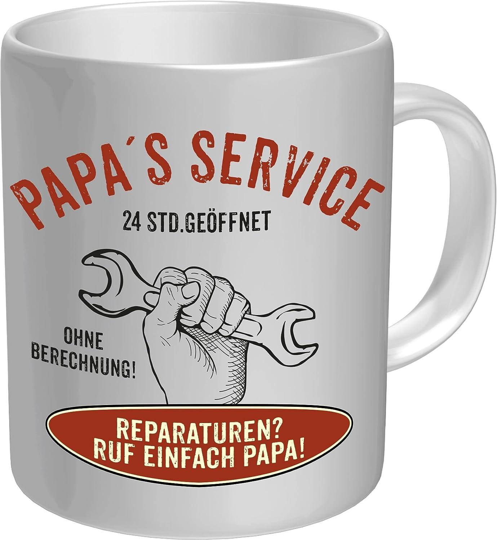Rahmenlos Original Taza de café para los Vater: Papa s Service – En Caja De Cartón 2626: Amazon.es: Hogar