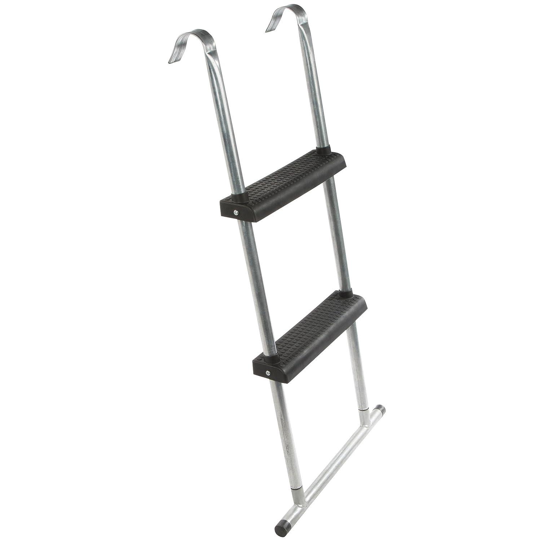 Ultrasport Escalera para cama elástica con travesaño de suelo para todas las