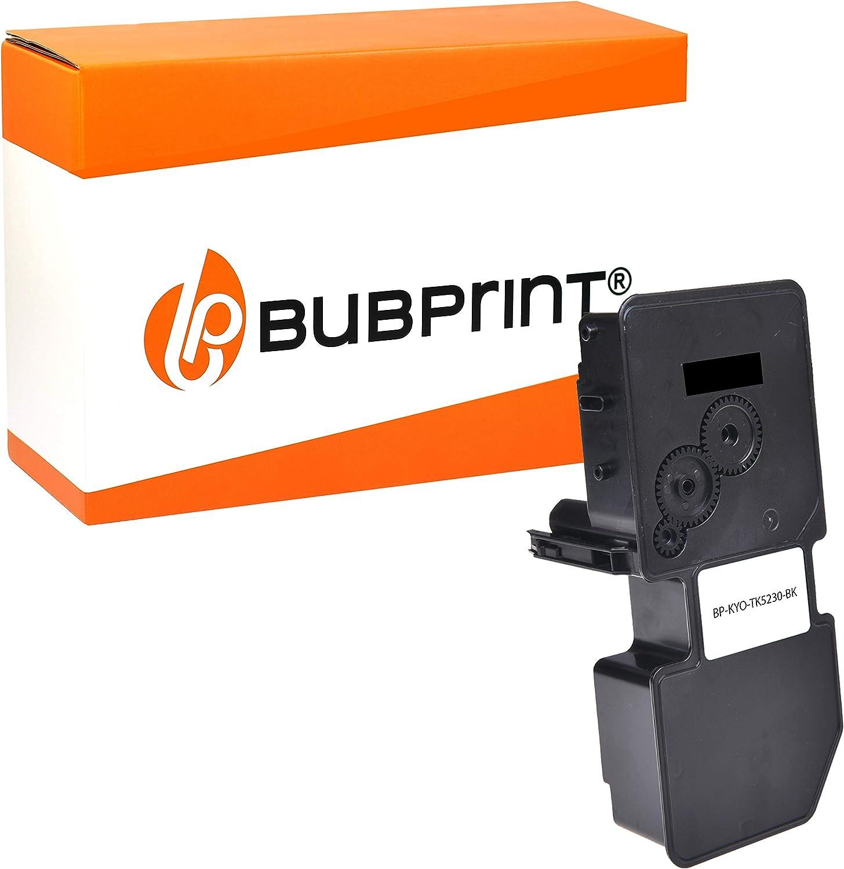 Bubprint Toner Kompatibel Für Kyocera Tk 5230k Tk5230k Tk 5230k 1t02r90nl0 Für Ecosys M5521cdn M5521cdw P5021cdn P5021cdw M5521 P5021 Cdn Cdw Schwarz Bürobedarf Schreibwaren