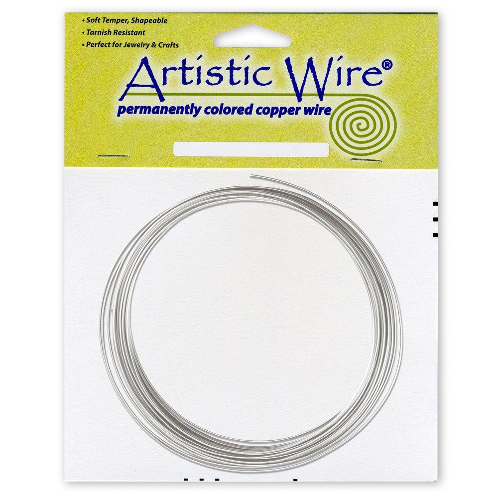 Tin Copper 10 Beadalon Artistic Wire-Tin-12 Gauge