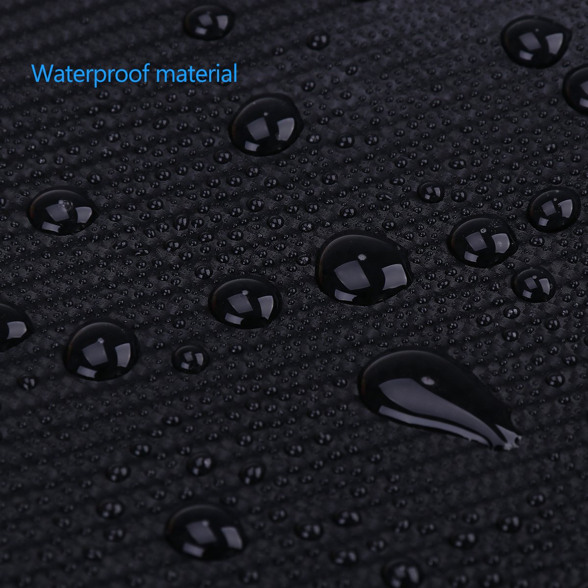 WINOMO 4D Black Carbon Fiber Film Wrap Roll Self-adhesive DIY Sticker Sheet for Car Motorcycle Bicycle 118x11.8 inch
