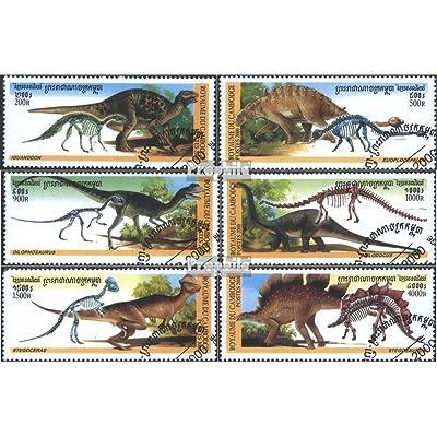 Cambodge 2026-2031 (complète.Edition.) 2000 Préhistoriques Animaux (Timbres pour les collectionneurs)