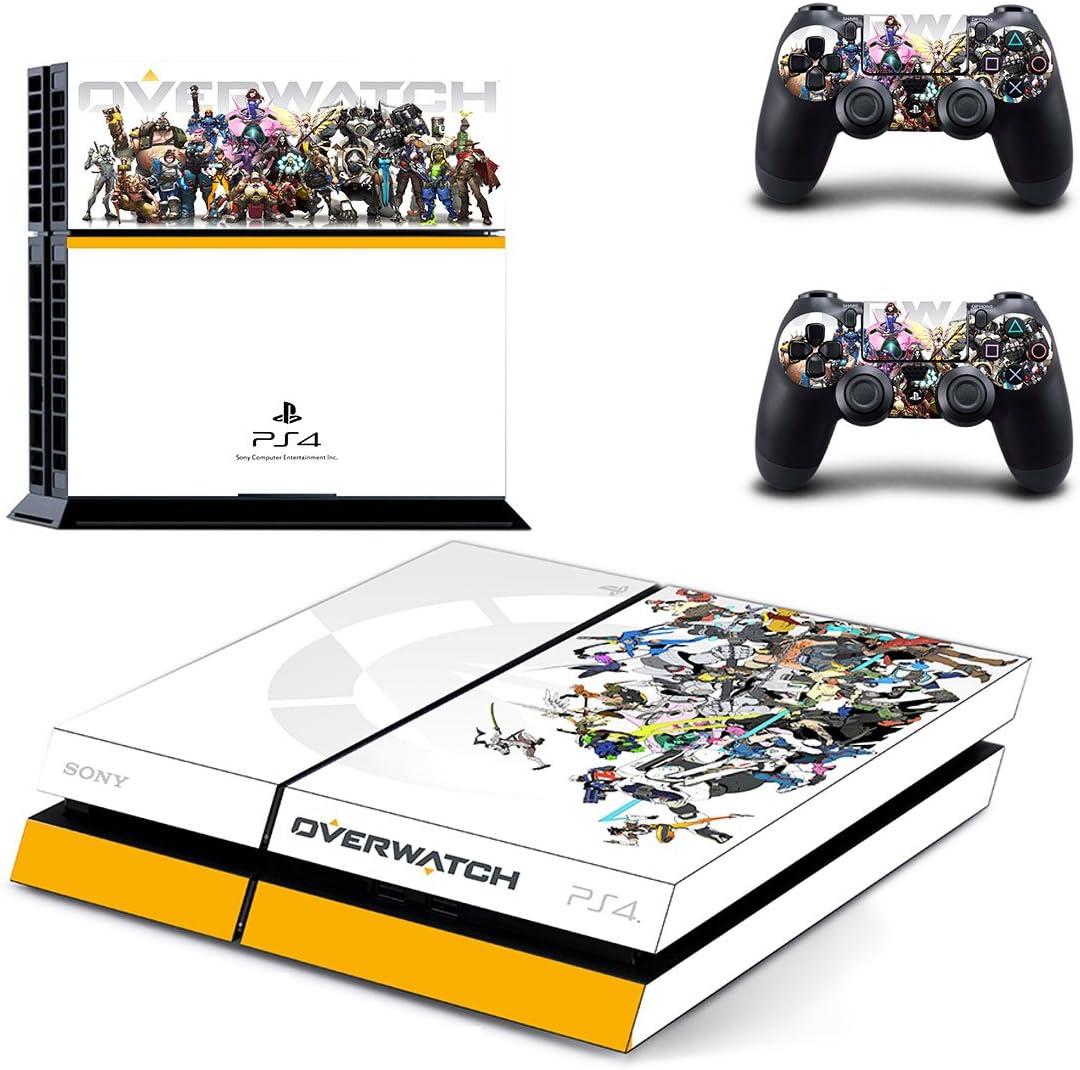 qkonsole PS4 EGO Shooter Diseño Skin Sticker Playstation 4 vinilo protector de pantalla – mate: Amazon.es: Electrónica