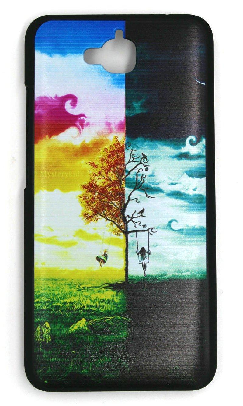 Generic Black Hard Plastic PC Phone Case Cover for Huawei Enjoy 5 TD-LTE  Dual SIM TIT-AL00 Case Cover