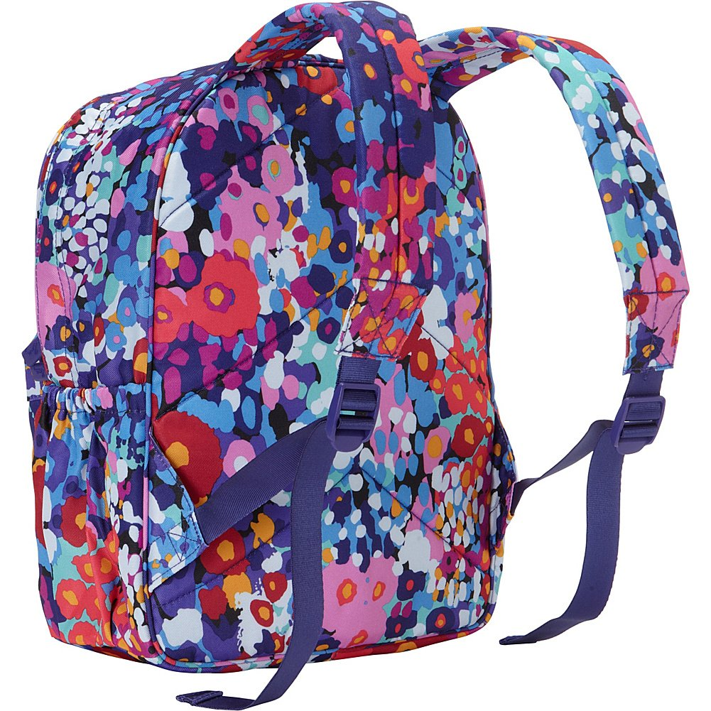 ae53a36940 Vera Bradley Lighten Up Just Right Backpack (Art Poppies)  Amazon.in   Clothing   Accessories