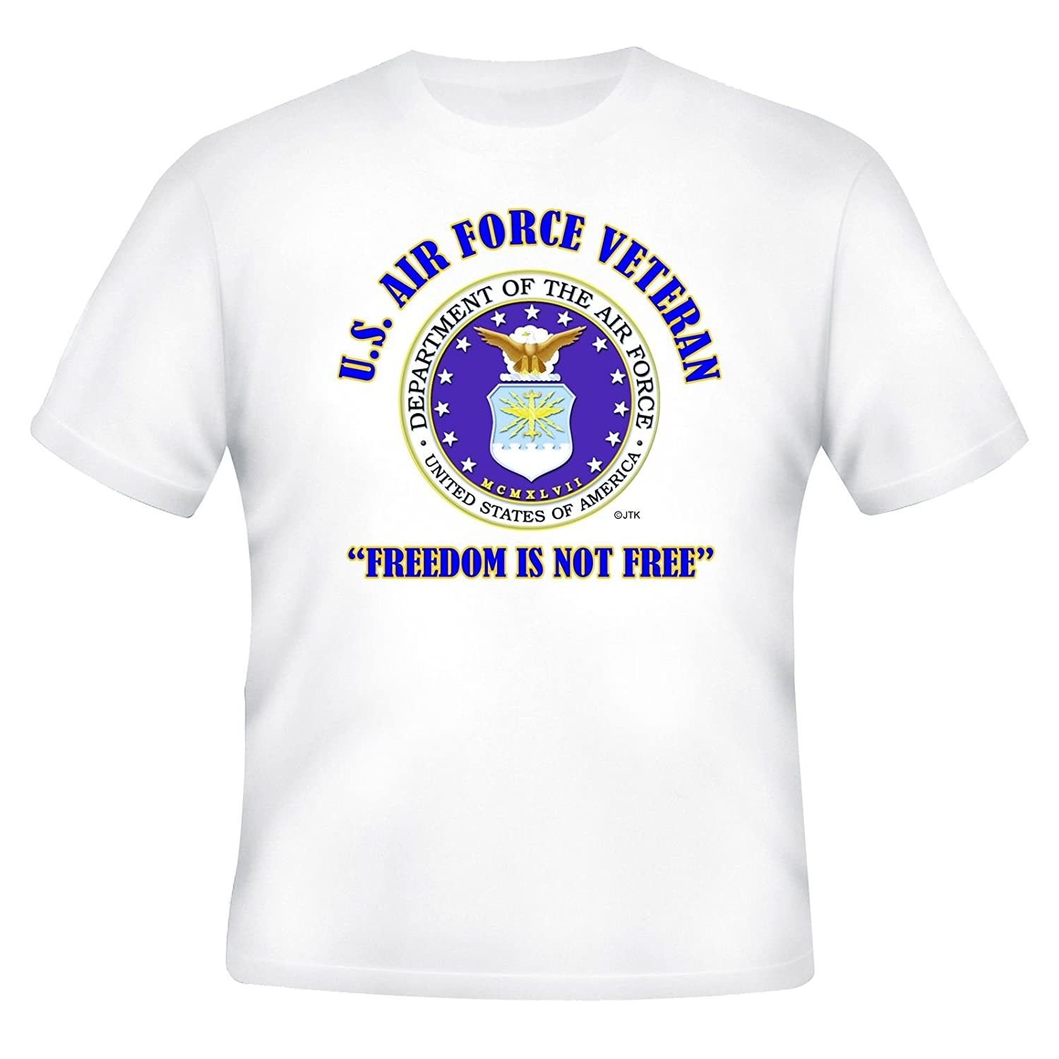"UNITED STATES AIR FORCE VETERAN /""FREEDOM IS NOT FREE/"" EMBLEM SWEATSHIRT"