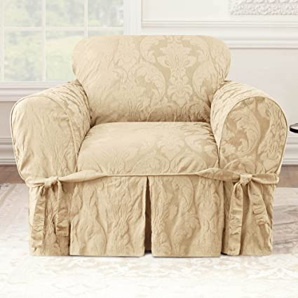 Amazon.com: Sure Fit Matelasse – Damask – Funda para silla ...