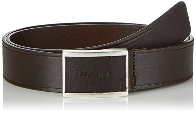 05d5460937 Image Unavailable. Image not available for. Colour: GANT Men's Belt Brown  Braun (DARK ...