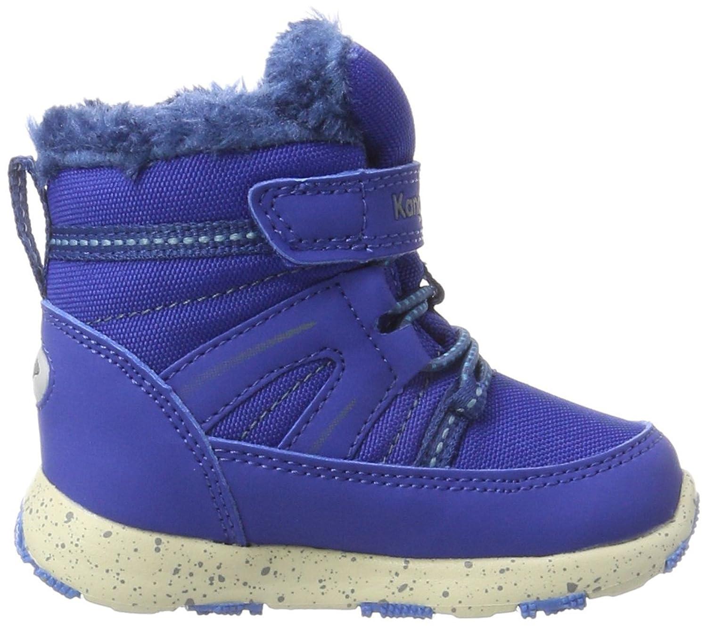 Kangaroos K-Snow, Zapatillas Unisex Bebé, Blau (K Blue/Brilliant Blue), 30 EU
