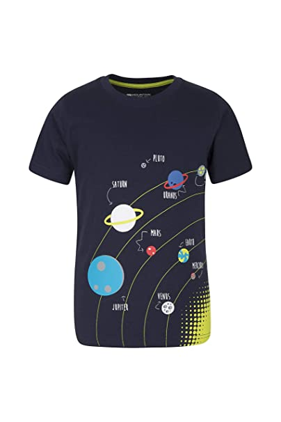 Funny Kids Childrens T-Shirt tee TShirt Rocket Ship Science Glow In The Dark