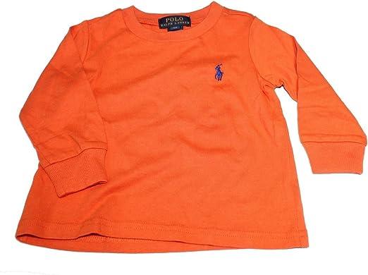 Polo Ralph Lauren Camiseta de Manga Corta - Para Niño Naranja ...