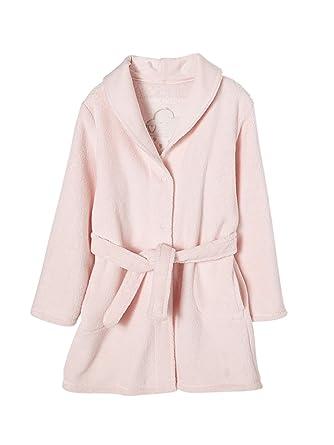 Vertbaudet Robe de Chambre Fille Douceur Peluche: Amazon.fr ...