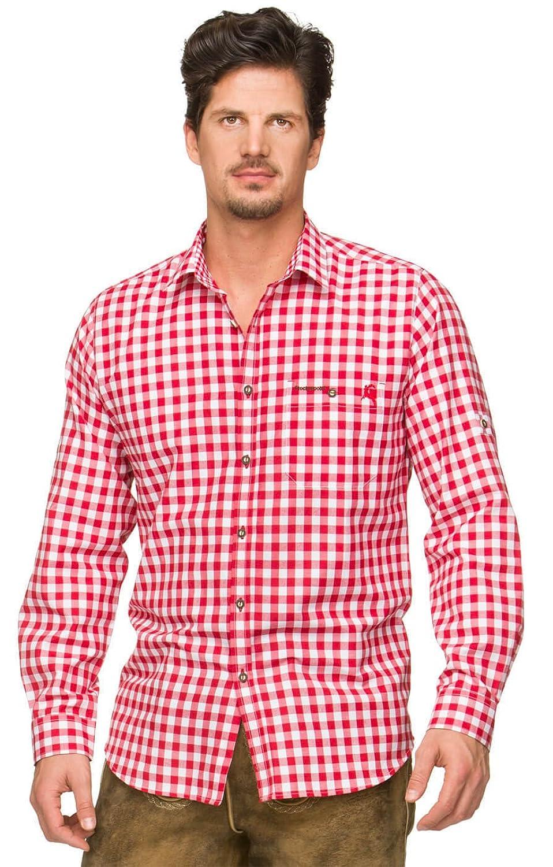 Trachtenhemd Mitchel rot