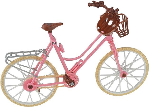 Amazon.es: Asiv Moda Rosa Bicicleta Desmontable Plástico con Cesta ...