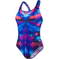 Speedo Mirageshine Placement Digi Powerback - Bañador Mujer