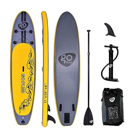 Goplus Sup Stand Up Paddle Sup - Paddle Hinchable Hinchable de PVC ...