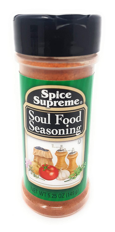 Spice Supreme Soul Seasoning, 5.25-oz. plastic shaker