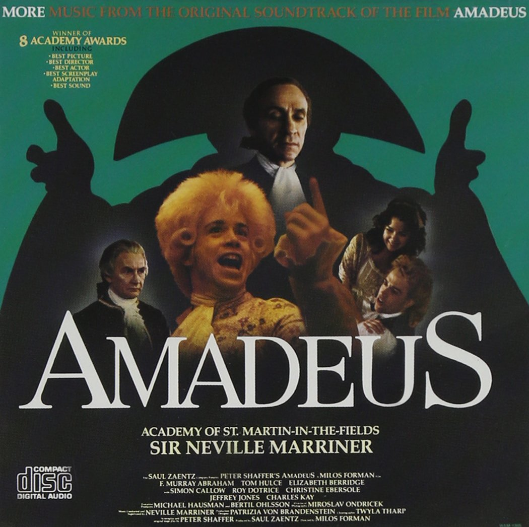Amazon Com Amadeus More Music From The Original Soundtrack Of The Film Amadeus Music