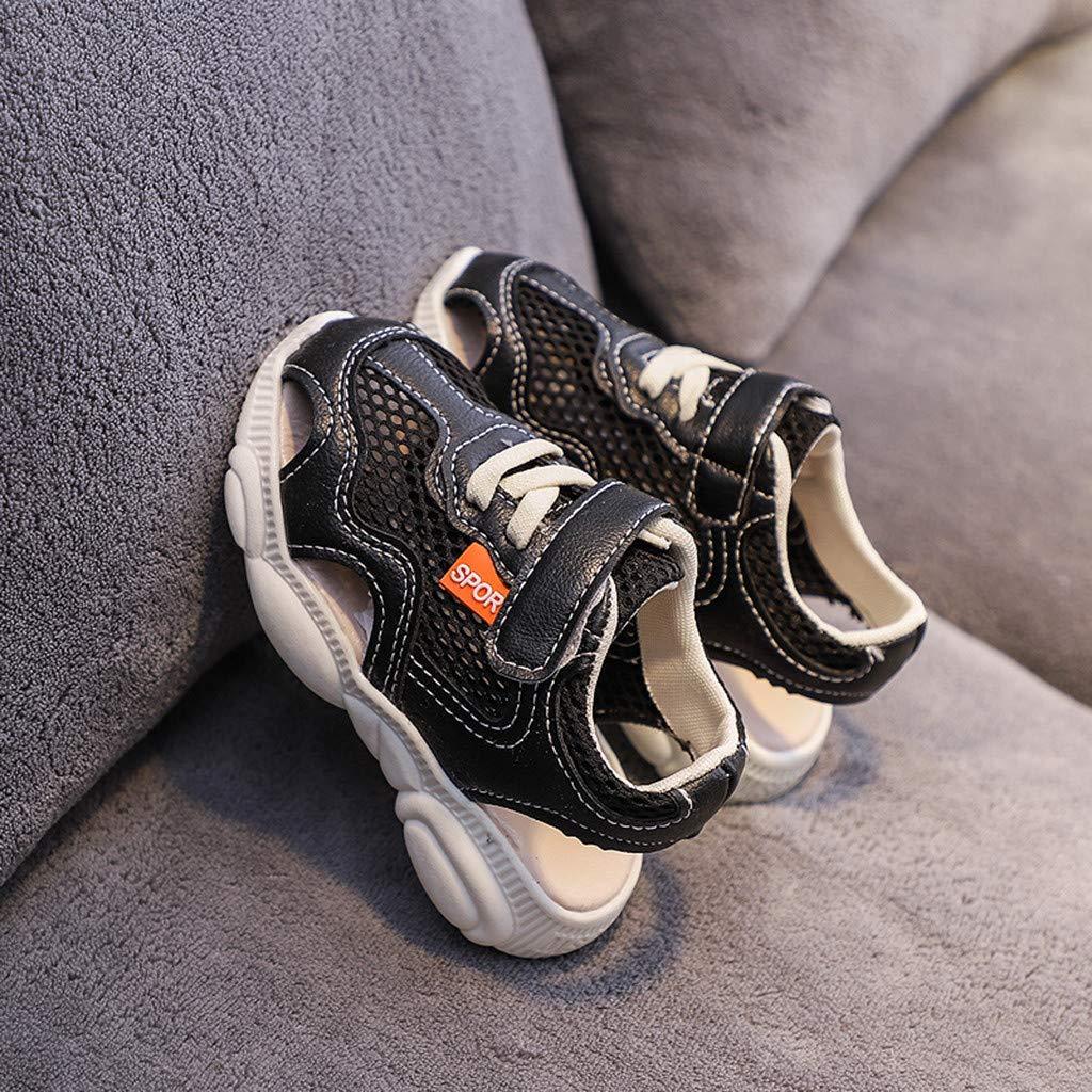 Makalon Unisex Kinder Atmungsaktive Leichte Klettverschluss Bequeme Running Sneakers Jungen Outdoor Sportschuhe M/ädchen Laufschuhe Hallenschuhe Schuhe Wanderschuhe S/äugling Sandalen