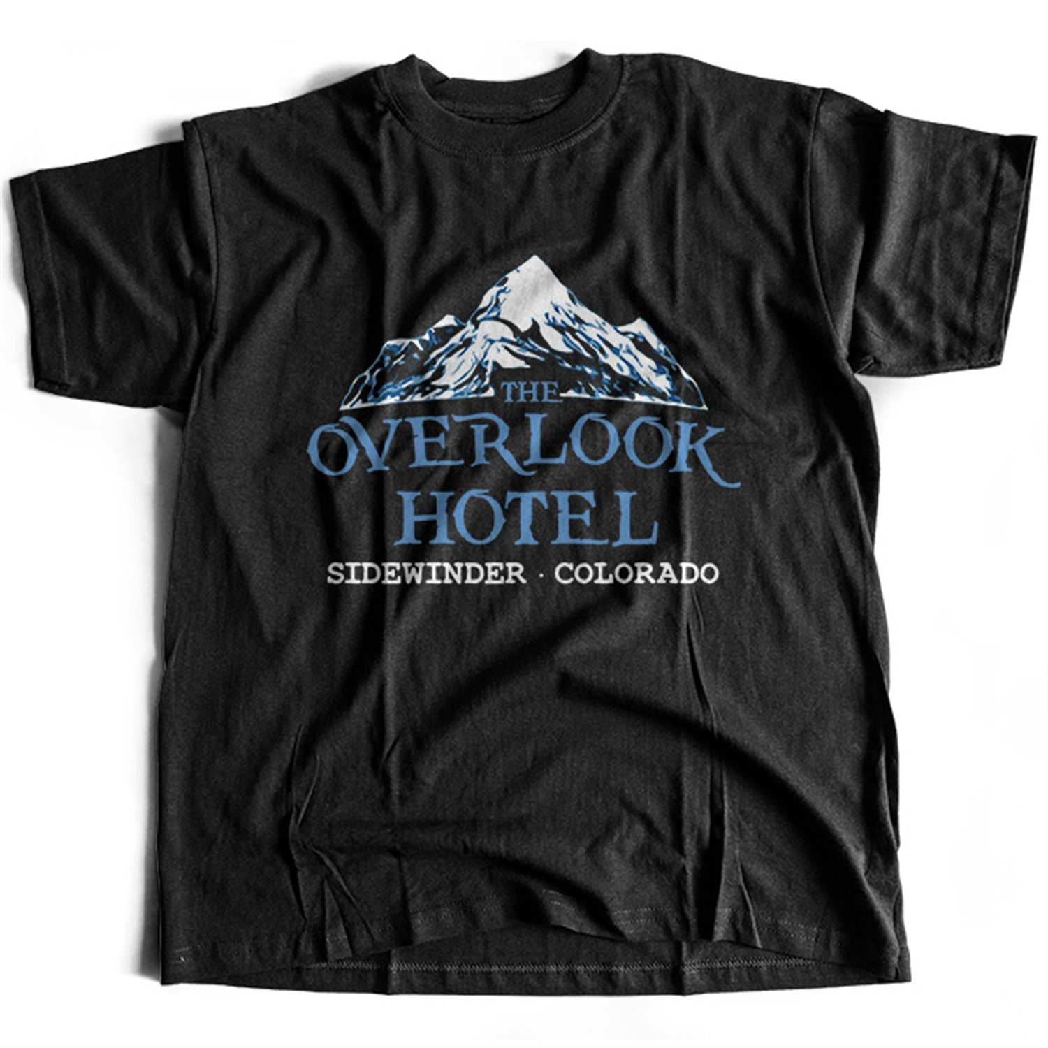 Flamentina 9057 The Overlook Hotel Mens T-Shirt Room 237 Sidewinder all Shining Maze Redrum Work No Play NEW-9057