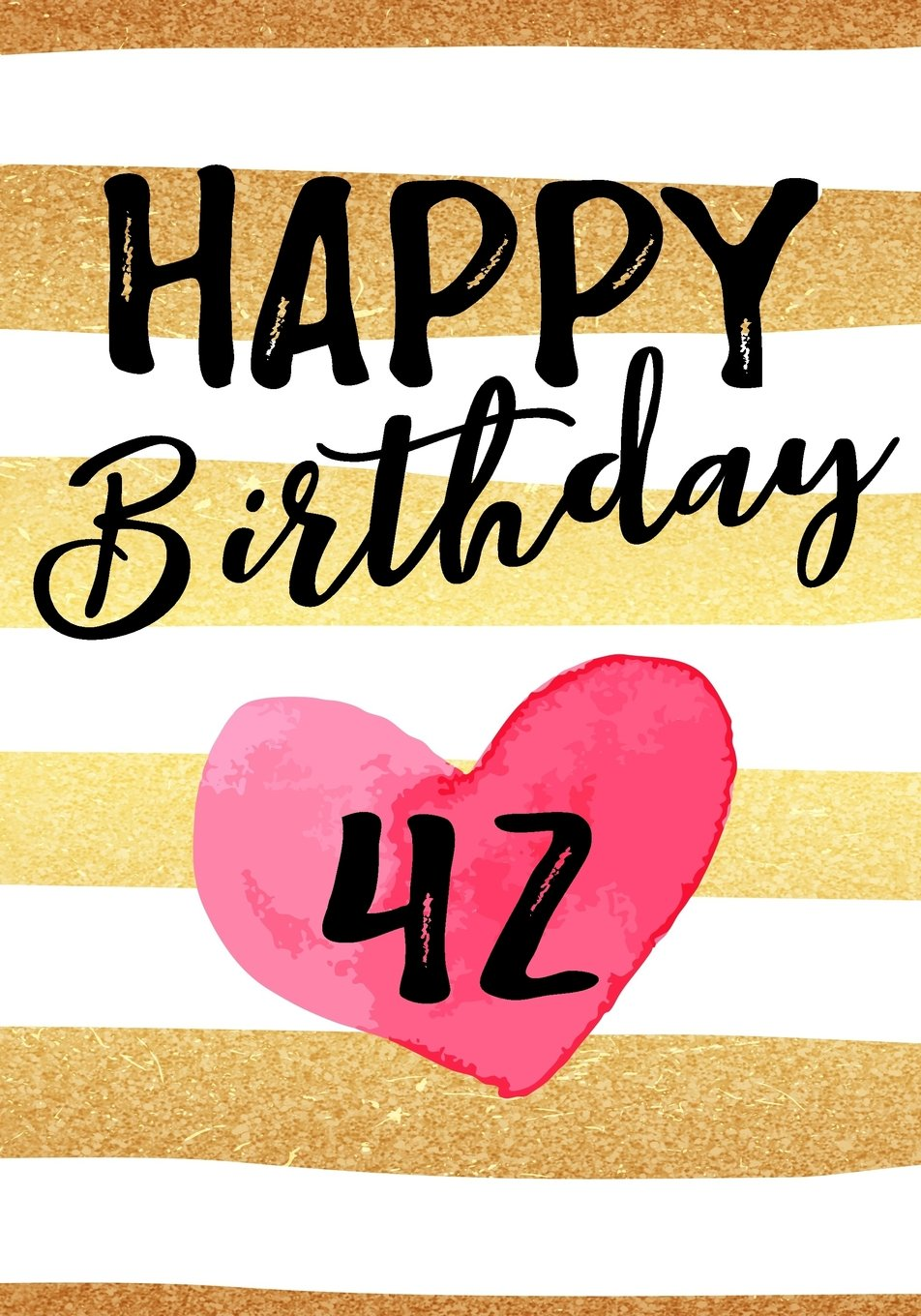 Read Online Happy Birthday 42: Journal Notebook Keepsake For Best Wishes Messages & Doodles pdf