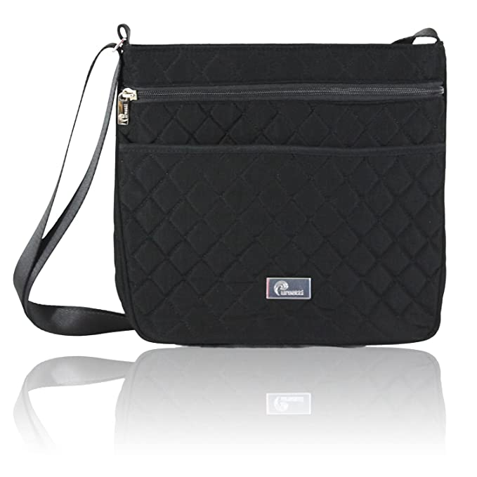Pursetti Quilted Crossbody Bag for Women