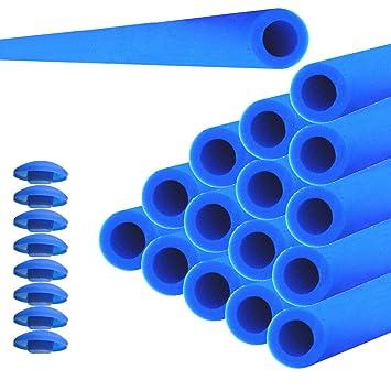 16 X Cama Elástica Tubos De Espuma Cojín 84 Cm Para 8 Barras De