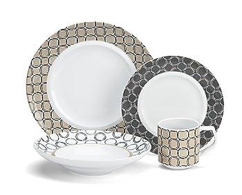 Cuisinart CDP01-S4C Dinnerware Set