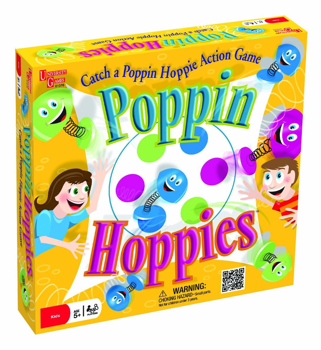 Poppin Hoppies Game University Games 01376