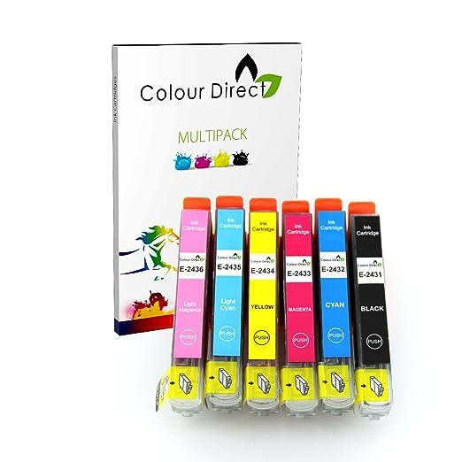 2 opinioni per Colour Direct 6 XL Ad alta capacità Compatibile Cartucce d'inchiostro