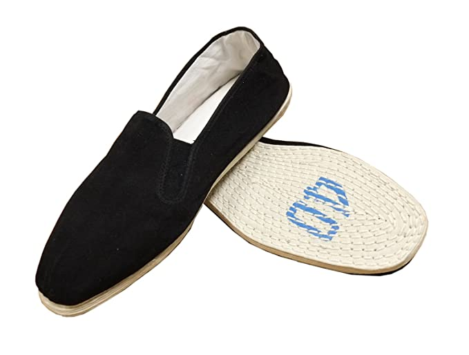 0adaa4164567a Image Unavailable. Image not available for. Color: AWMA Chinese Traditional  Cloth Sole Kung Fu Shoes Size 46 (US Men 13.5-14