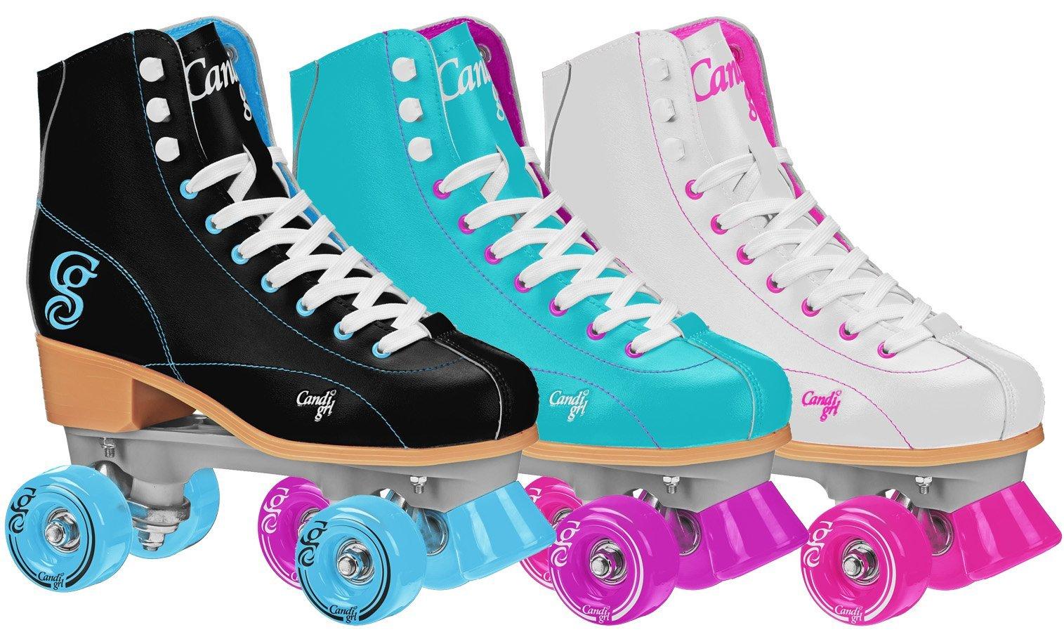 Roller Derby  Rewind Unisex Roller Skates (Size 07) - Black/Teal