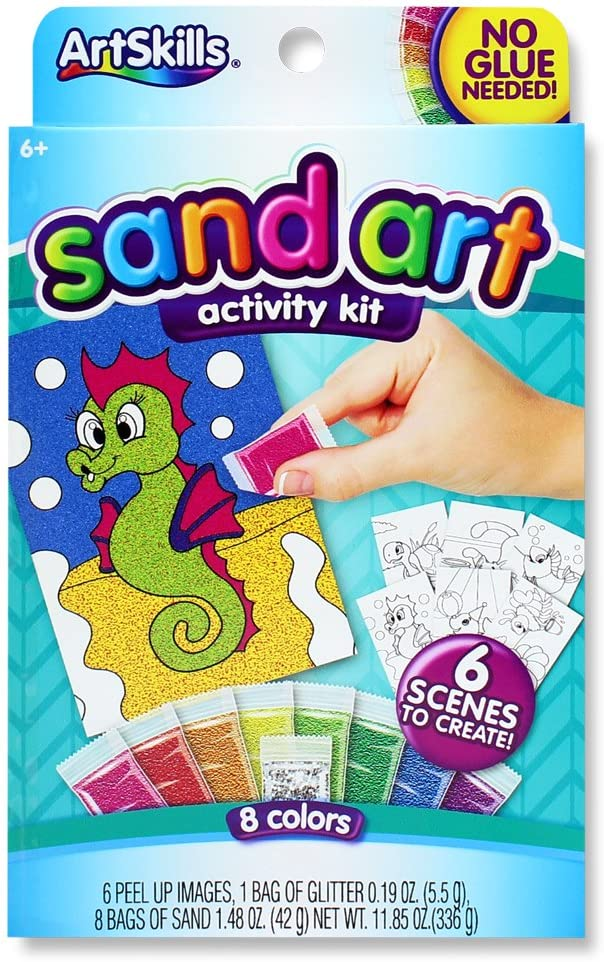 Arts and Crafts Supplies ArtSkills Clay Art by Number 4 Count with Included Designs Strips of Clay