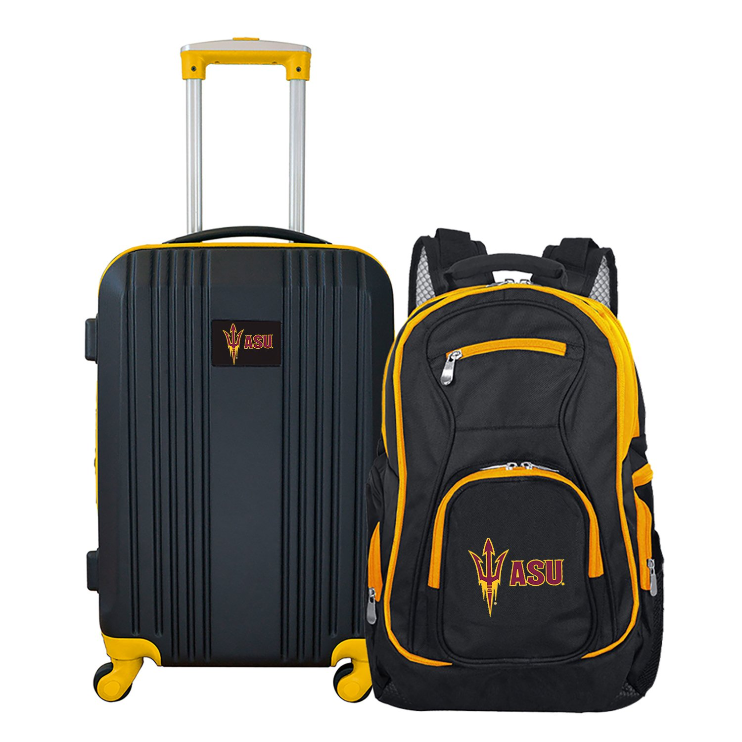 NCAA Arizona State Sun Devils 2-Piece Luggage Set