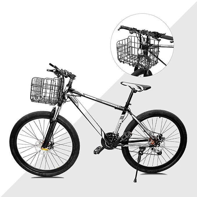 Airby Cesta de la Bicicleta para el Manillar y el Asiento Trasero ...
